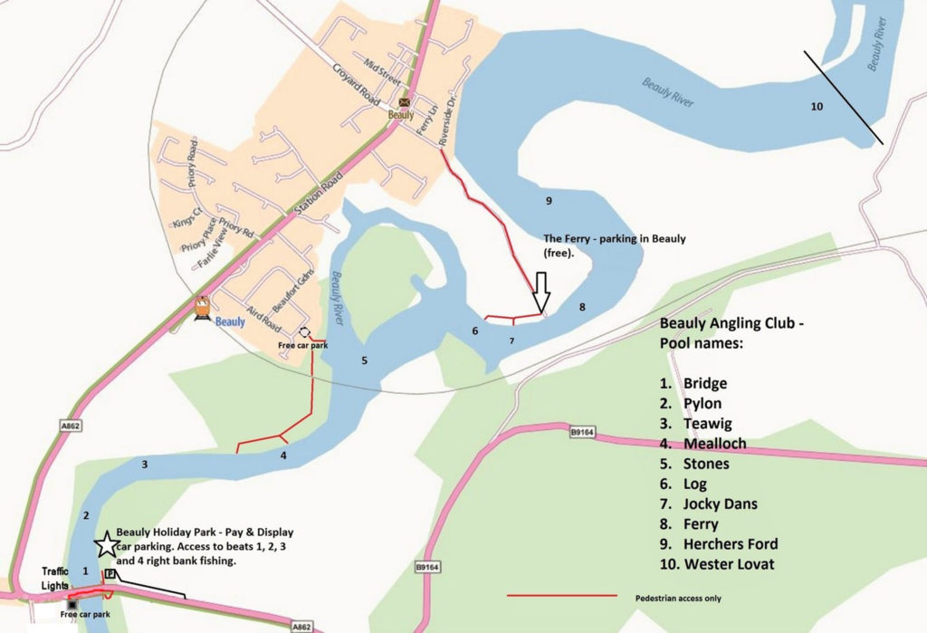 River Beats map BAC